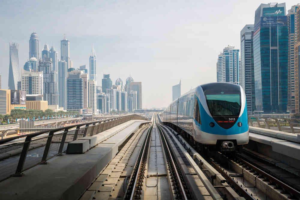 Free Wi-Fi on Dubai Metro